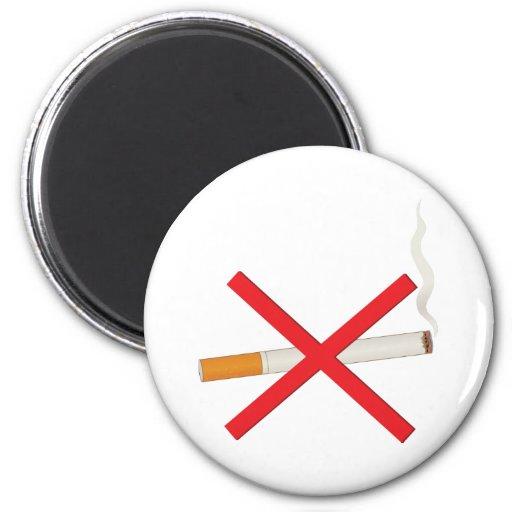No Smoking Fridge Magnet