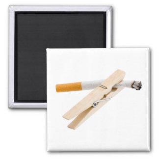 No Smoking Square Magnet