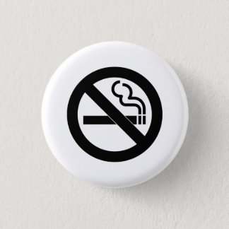 'No Smoking' Pictogram Button