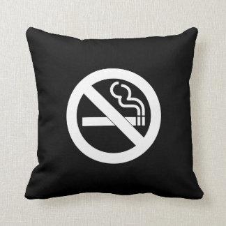 No Smoking Pictogram Throw Pillow