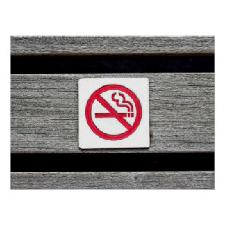 No Smoking Print