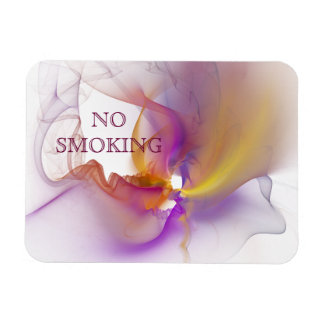 No Smoking Rectangular Photo Magnet