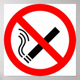 NO Smoking Sign - UK Signage