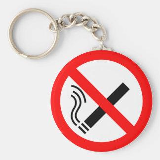 NO Smoking Sign - UK Signage Key Ring