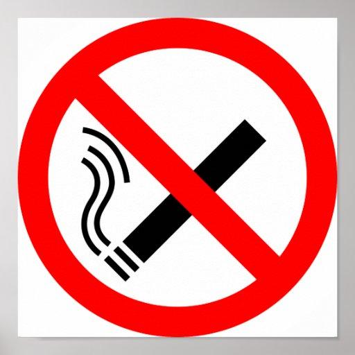 NO Smoking Sign - UK Signage Posters