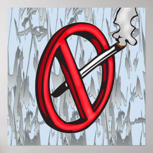 No Smoking Symbol Print