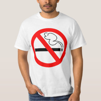 No Smoking Symbol T-shirt