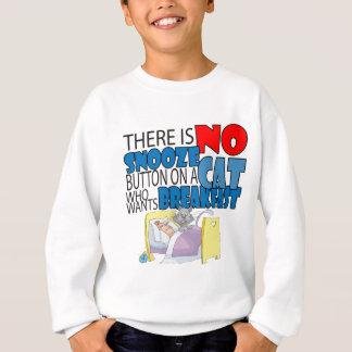 No Snooze Cat Bed Sweatshirt