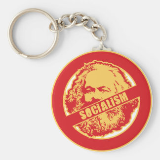 No Socialism Key Ring
