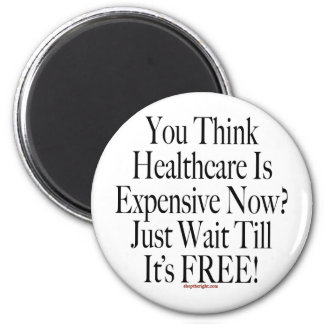 No Socialized Medicine Button Refrigerator Magnets