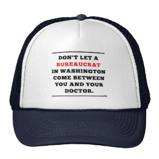 No Socialized Medicine Mesh Hats