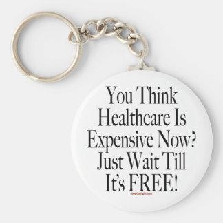 No Socialized Medicine Keychain