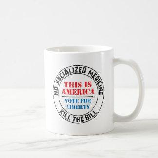 No Socialized Medicine Coffee Mugs