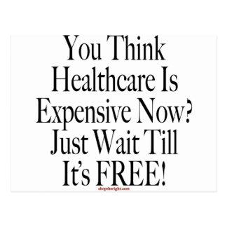 No Socialized Medicine Postcard
