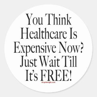 No Socialized Medicine Sticker