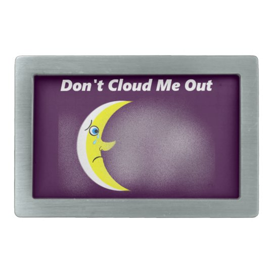 No Solar Eclipse Belt Buckle