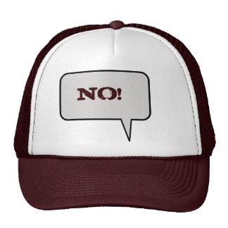 No Speech Bubble Hat