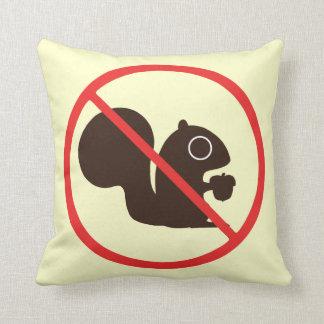 No Squirrels Cushion