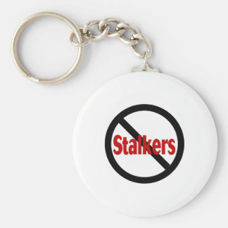 No Stalkers Key Ring