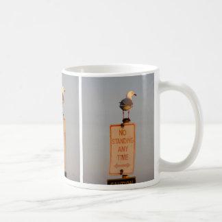 No Standing Basic White Mug