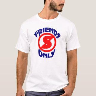 No Standing Friends Only T-Shirt