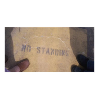 No Standing Photo Cards
