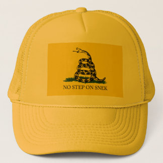 NO STEP ON SNEK Trucker Hat