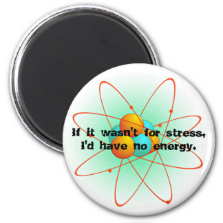 No Stress 6 Cm Round Magnet