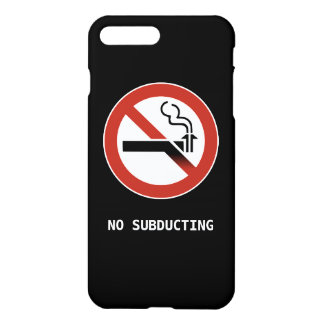 No Subducting Logo iPhone 7 Plus Case