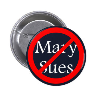 No Sues Allowed 6 Cm Round Badge