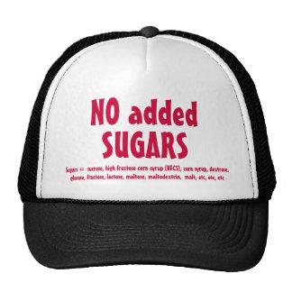 NO SUGARS hat, ver.2 Cap