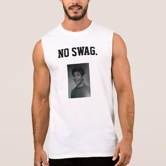 NO SWAG DJ WES LAGA SLEEVELESS SHIRT
