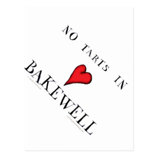 no tarts in bakewell, tony fernandes postcard