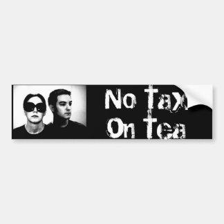 No Tax On Tea Bumper Sticker