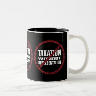 No Taxation Declaration Coffee Mugs