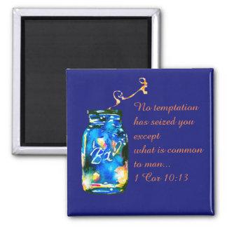 No temptation... square magnet