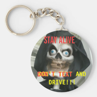 NO TEXTING Keychain for Drivers of All Ages