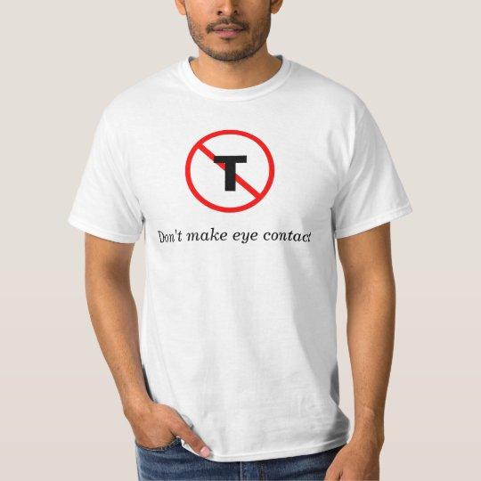 No Thanks T T-Shirt