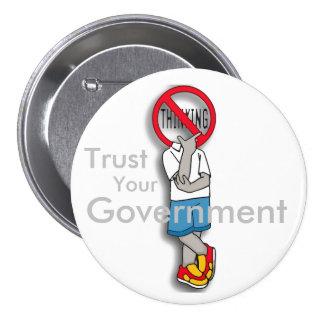 No thinking badge