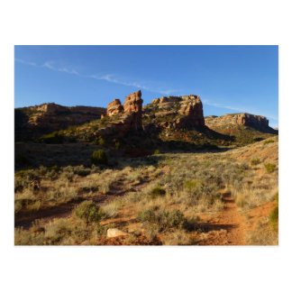 No Thoroughfare Canyon Colorado National Monument Postcard