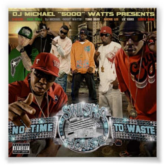 No Time To Waste Poster