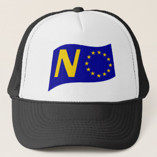 No To European Union Trucker Hat