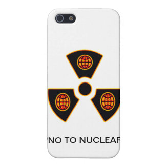 No To Nuclear iPhone 5 Cover