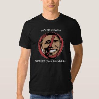 No To Obama Customizable Shirt