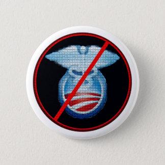 No to Obamacare 6 Cm Round Badge