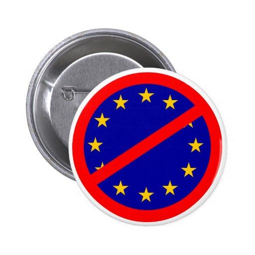 No to the EU Buttons