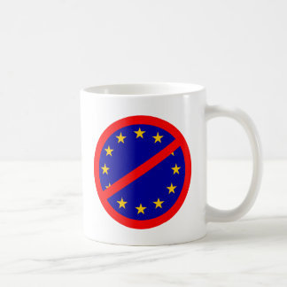No to the EU Coffee Mug
