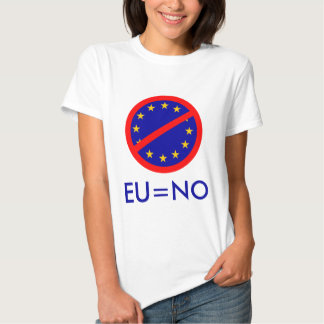 No to the EU Tshirt