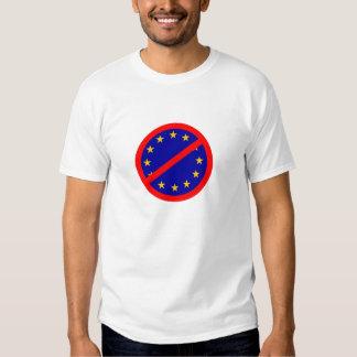 No to the EU Tshirts