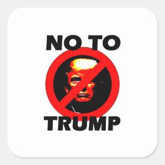 No To Trump - Sticker